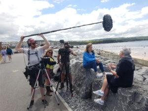 Meducation Gallery Filming 1