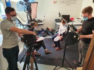 Meducation Gallery Filming 11