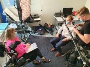 Meducation Gallery Filming 12