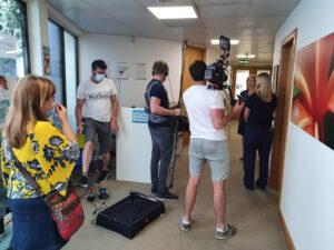 Meducation Gallery Filming 6