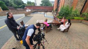 Meducation Gallery Filming 8